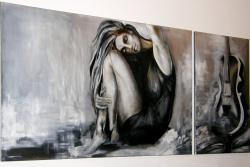 Picturi alb negru Antique