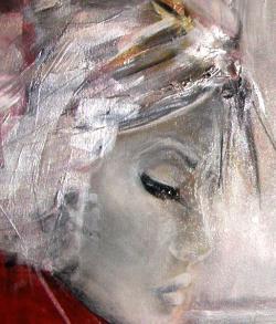 Picturi cu potrete/nuduri detaliu portret