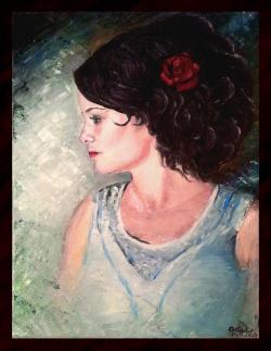 Picturi cu potrete/nuduri Iulia