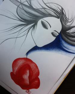 Picturi cu potrete/nuduri Tacere in cer