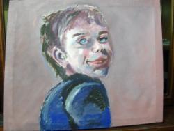 Picturi cu potrete/nuduri A kid
