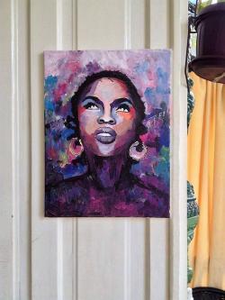 Picturi cu potrete/nuduri Lauryn Hill
