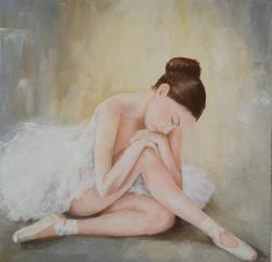 Picturi cu potrete/nuduri Micuta balerina (div)