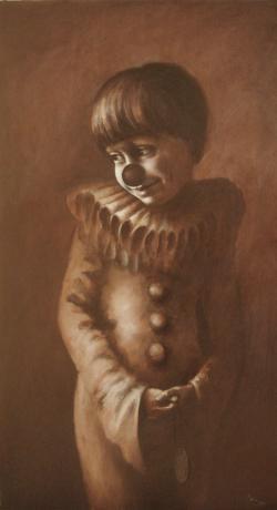 Picturi cu potrete/nuduri arlechin