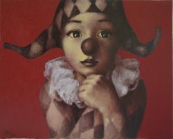Picturi cu potrete/nuduri arlechinul1a