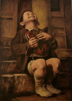 Picturi cu potrete/nuduri Cadoul
