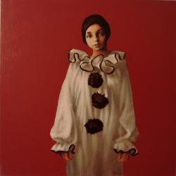 Picturi cu potrete/nuduri Costumul lui Pierrot