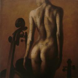 Picturi cu potrete/nuduri partitura
