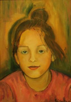 Picturi cu potrete/nuduri Zambet de copil