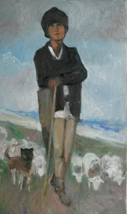 Picturi cu potrete/nuduri ciobanas