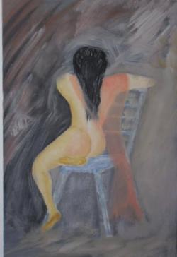 Picturi cu potrete/nuduri gladiatoarea