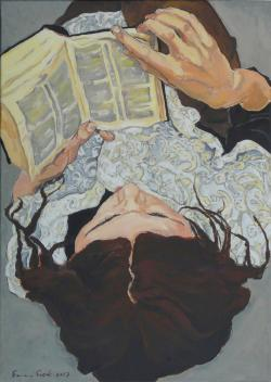 Picturi cu potrete/nuduri Cititoare 3