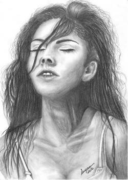 Picturi cu potrete/nuduri Megan Fox