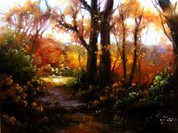 Picturi cu peisaje crang
