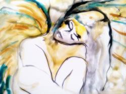 Picturi cu potrete/nuduri inger de paza