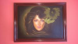 Picturi cu potrete/nuduri Protret Feminin Superb