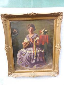 Picturi cu potrete/nuduri mandolinos holgy