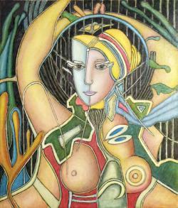 Picturi cu potrete/nuduri Portret V