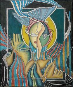 Picturi cu potrete/nuduri Regina 2