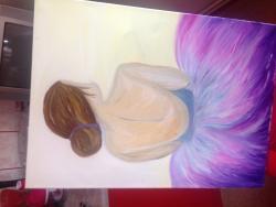 Picturi cu potrete/nuduri Fetita 123