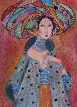 Picturi cu potrete/nuduri Azizah