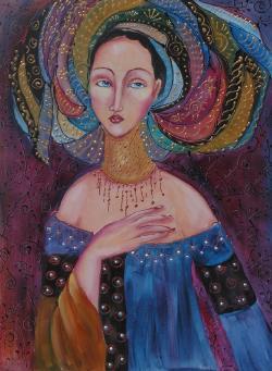 Picturi cu potrete/nuduri FARAH