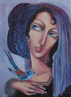 Picturi cu potrete/nuduri Madonna