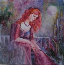 Picturi cu potrete/nuduri YARI NOAPTE