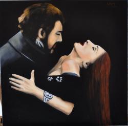 Picturi cu potrete/nuduri Traviata