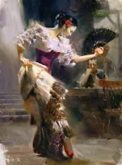Picturi cu potrete/nuduri dansul 4