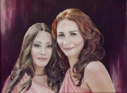Picturi cu potrete/nuduri Portret de familie