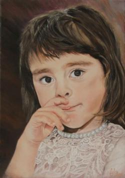 Picturi cu potrete/nuduri Portret de fata 4