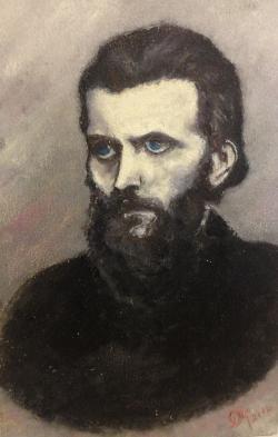 Picturi cu potrete/nuduri Arsenie Boca, martirul de la Prislop