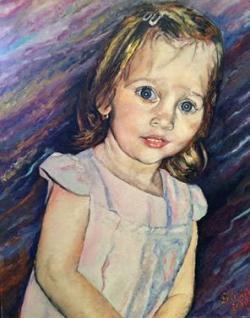 Picturi cu potrete/nuduri Portret de fetita (L.D.)