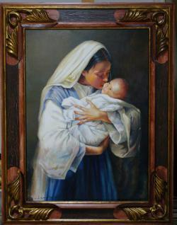 Picturi cu potrete/nuduri mama   02