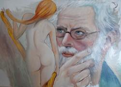 Picturi cu potrete/nuduri nostalgie--oos