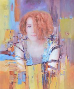 Picturi cu potrete/nuduri Katia 2