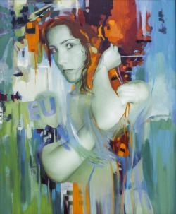 Picturi cu potrete/nuduri Oana 3