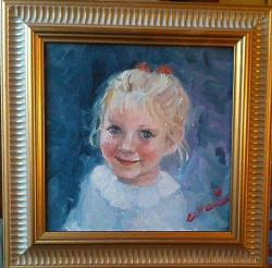 Picturi cu potrete/nuduri Bucurie
