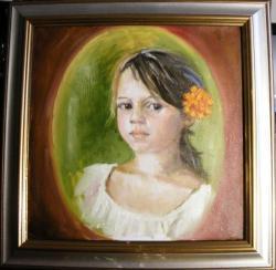 Picturi cu potrete/nuduri La oglinda