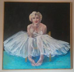 Picturi cu potrete/nuduri Marilyn M.
