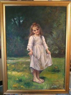 Picturi cu potrete/nuduri Reverență