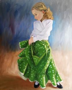 Picturi cu potrete/nuduri flamenca