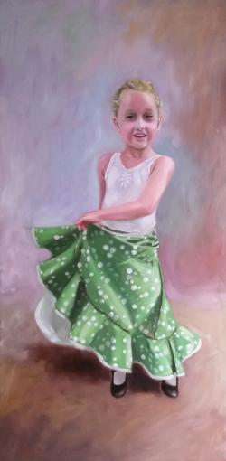 Picturi cu potrete/nuduri la danza