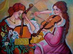 Picturi cu potrete/nuduri Acorduri11