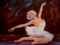 Picturi cu potrete/nuduri Balerina10