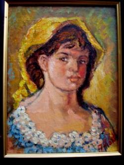 Picturi cu potrete/nuduri Cap de femeie 2