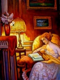Picturi cu potrete/nuduri Fata citind01