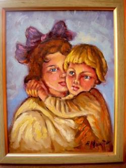 Picturi cu potrete/nuduri Fratii