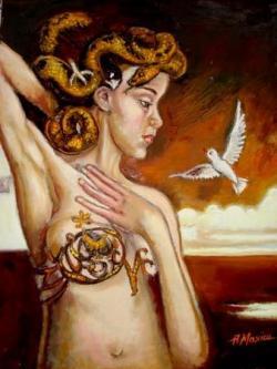 Picturi cu potrete/nuduri Ispita